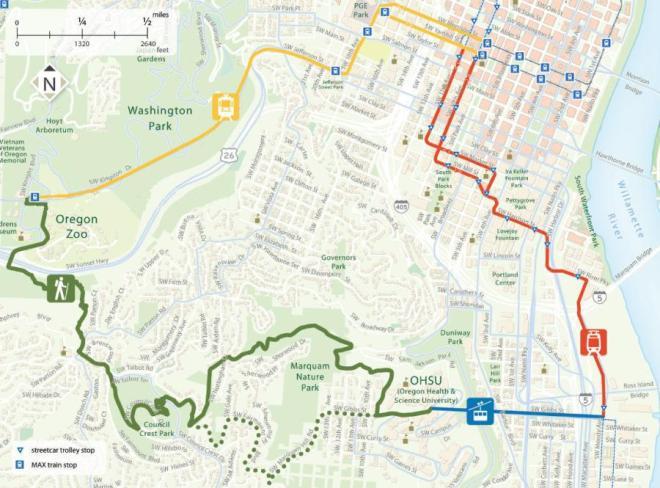 4T Trail Map