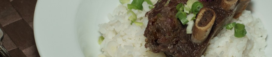 Korean Style Short Ribs - Banner Photo