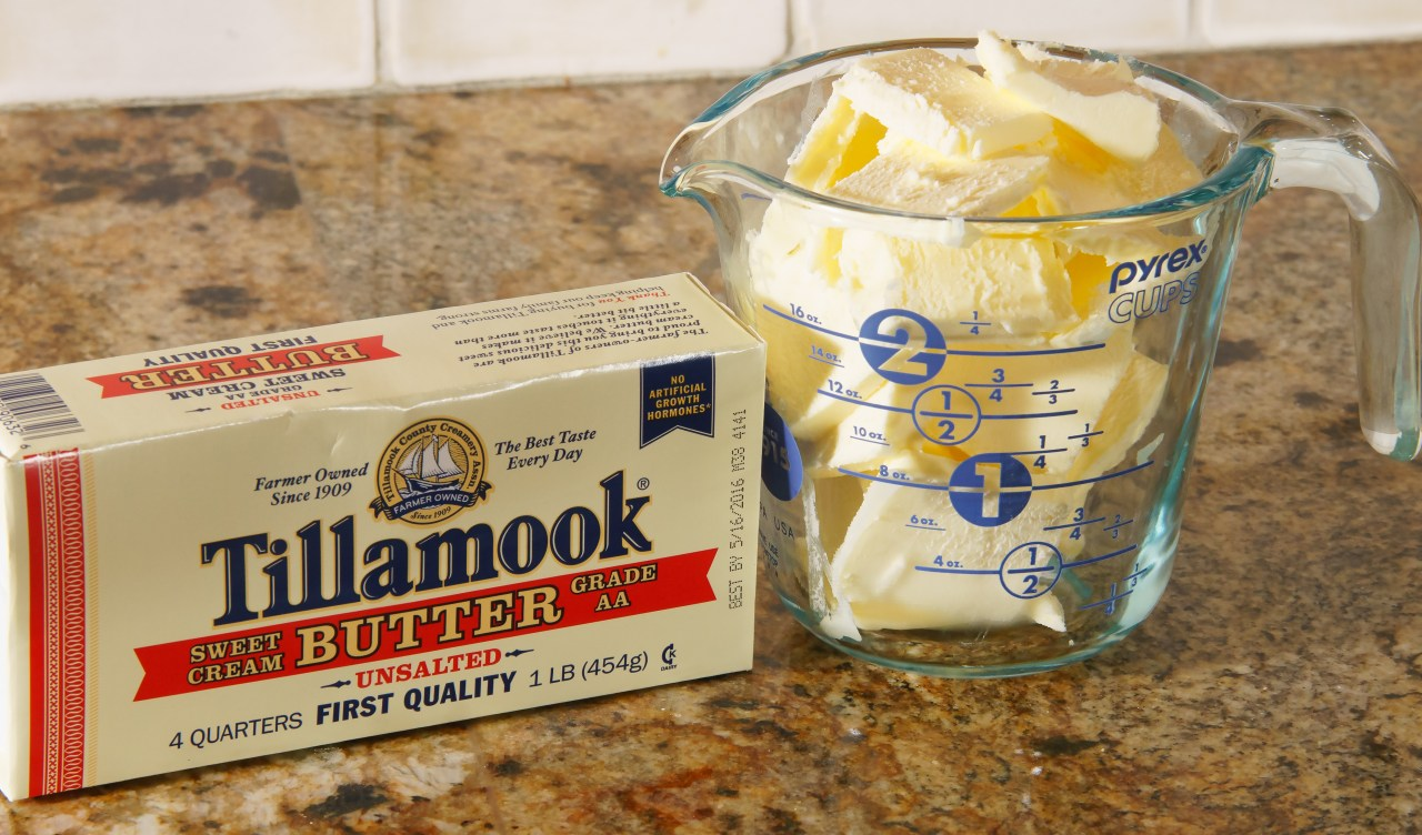 Clarified butter ingredients: butter.