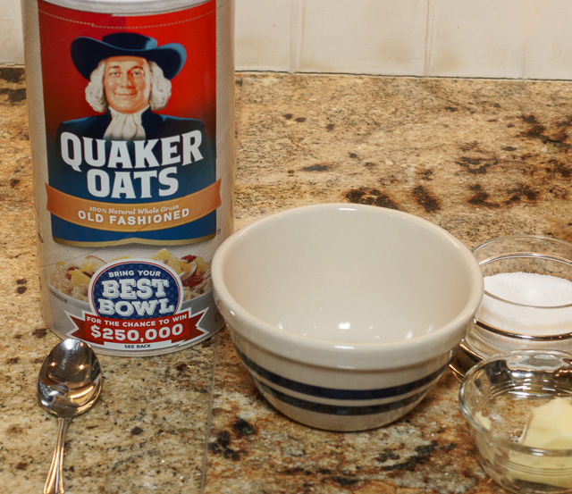 Oatmeal fixin's