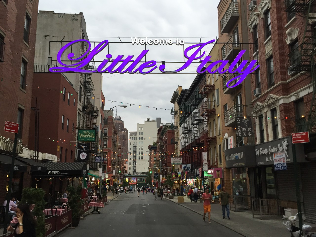 And to think I saw it on Mulberry Street - Little Italy, NYC