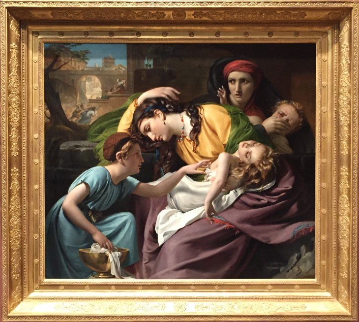 The Massacre of the Innocents by Navez - 1824. My favorite picture at the Metropolitan Museum of Art