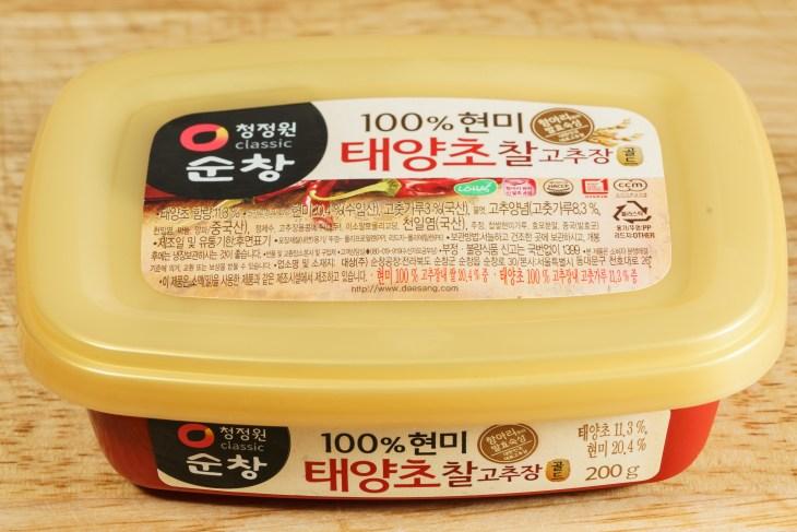 Gochujang sauce - I think :)