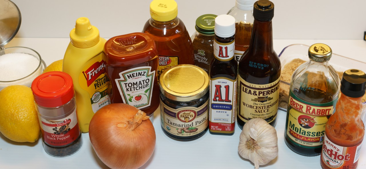 Kansas City BBQ Sauce Ingredients