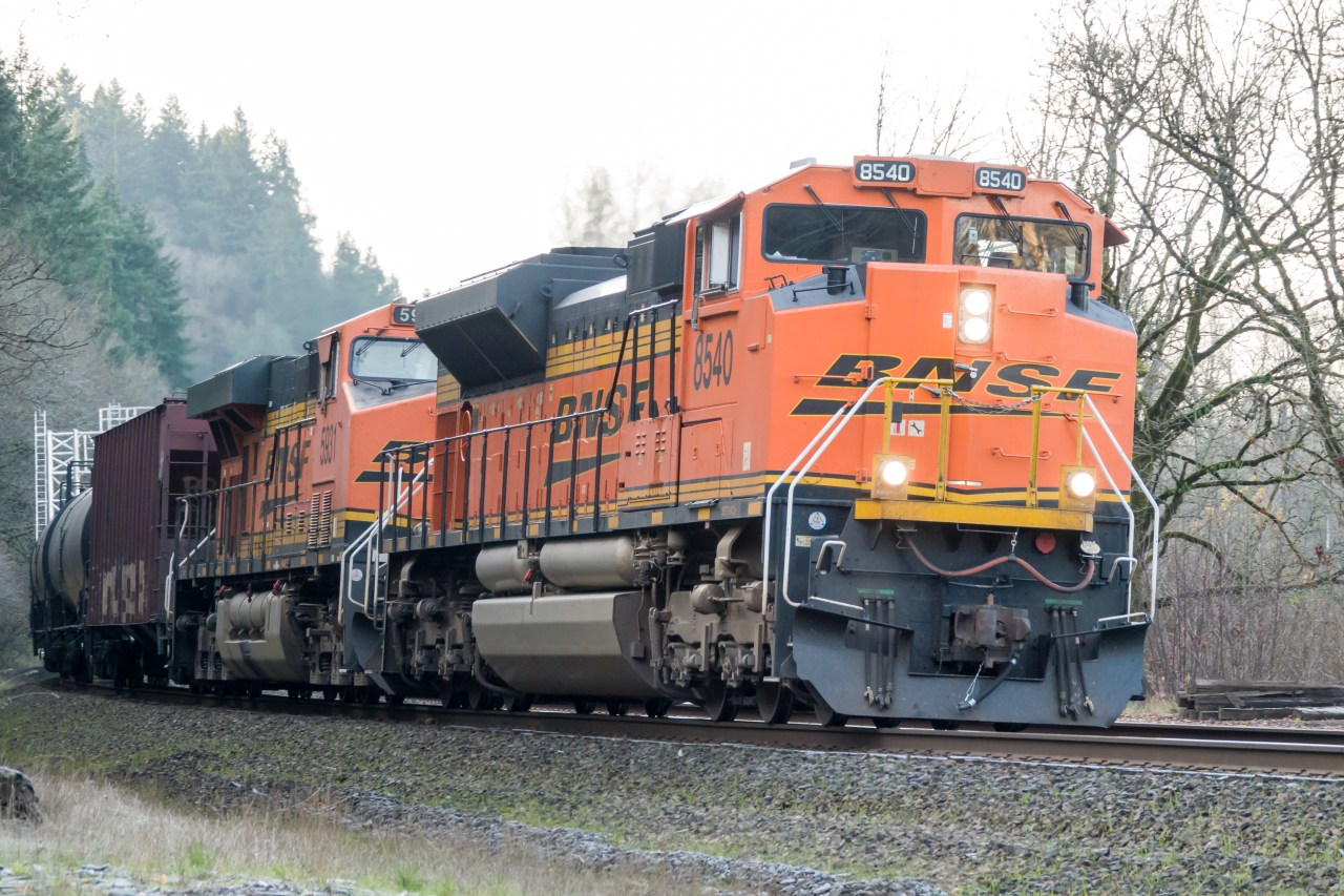 BNSF at Ridgefield Washington