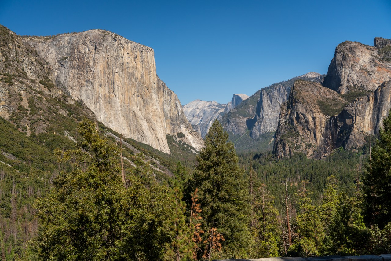 """""""Tunnel View"""" Yosemite National Park"""