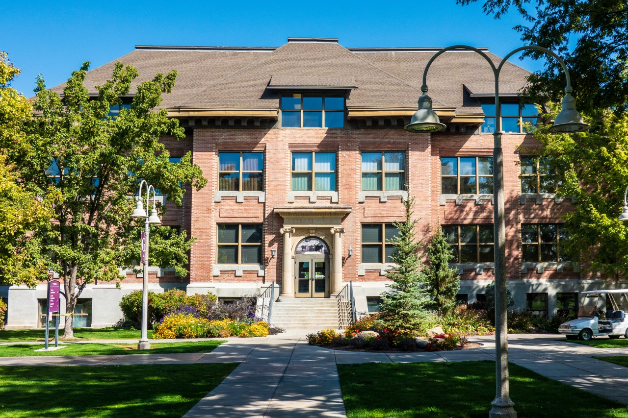 Sterry Hall - the original building at the College of Idaho