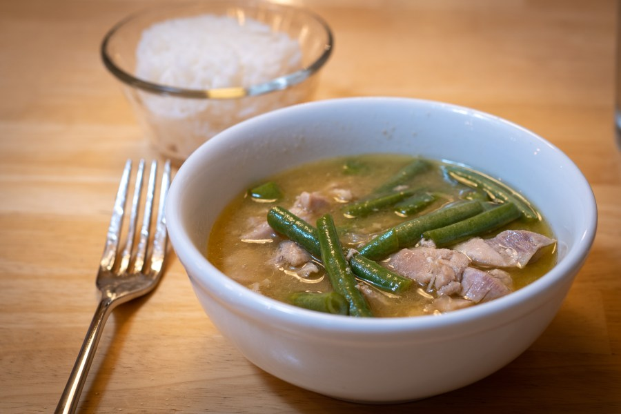 Green Thai Curry Chicken Soup