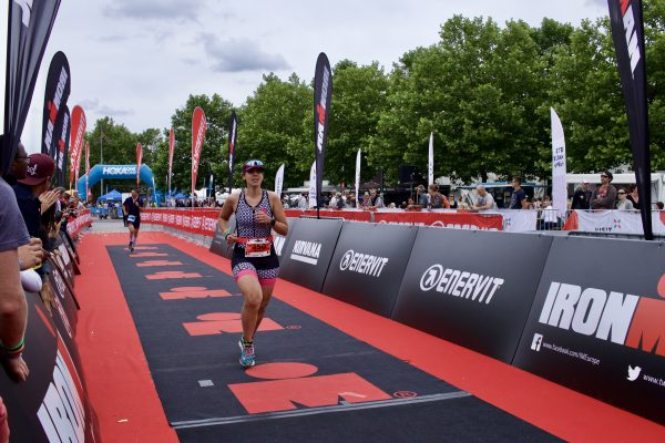 ironman 70.3 Luxembourg red carpet 2fortri Marine finish line