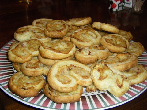 Ron and Mary made Savory Palmiers for their holiday party!!! They look SO great!