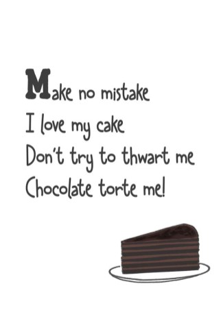 Torte cake