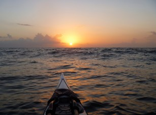 Sunrise over the Atlantic. Cumberland Island, Georgia