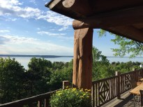 Grand Traverse Bay, seen from Hilltop Lodge