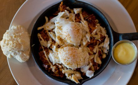 Hash Kitchen Lump Crab Hash