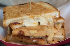 Pit Smoked Grilled Cheese