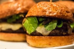 Chef Stephen Blended Burger Close Up