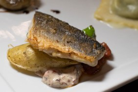 T. Cook's Pan Roasted Branzino