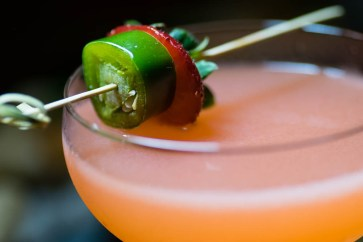 Course 2 Cocktail Garnish