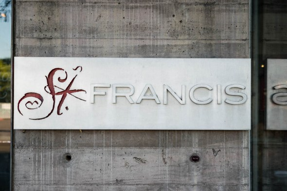 St. Francis Sign