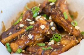 The Wing Counter Kung Pao Wings