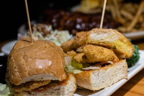 Bobby Q's Catfish Po'Boy
