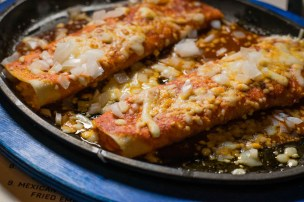 Tia's Enchiladas Cast Iron Skillet Enchilada