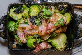 Wood Oven Roasted Brussels Sprouts 2geekswhoeat.com