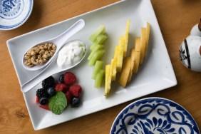 Fresh Fruit + Yogurt + Granola