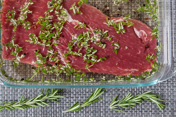 Salad Recipes   Beef Recipes   For their March recipe for Phoenix Public Market, The Geeks have created a Rosemary Brined Steak Salad perfect for meat eaters and salad lovers alike! 2geekswhoeat.com