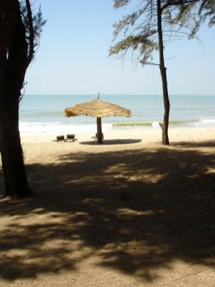 Stranden vid Kaufauntin