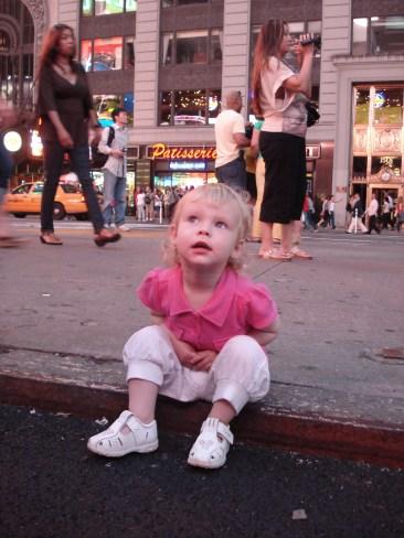 Vilja vid Times Square