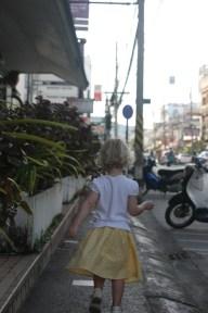 Vilja på språng i Phuket town