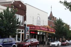 Main street i Franklin