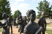 Monument över Little Rock Nine