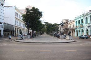 Paseo del Prado, avenyn som löper mellan gamla och nya Havanna