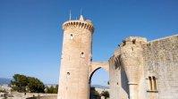Castell de Bellver Turm Brücke