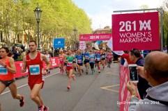 Startschuss - los geht's für Halb- und Marathon