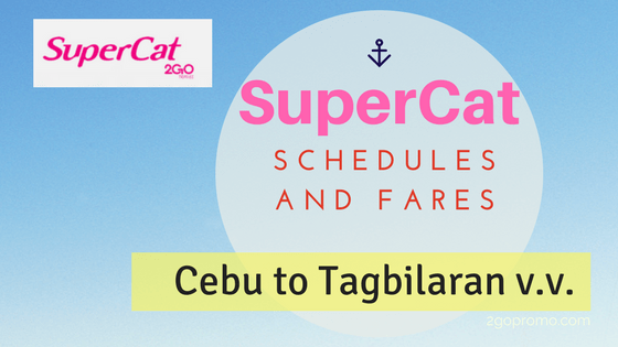 Supercat schedules and fares
