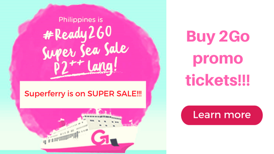 2go super sale promo 2 pesos