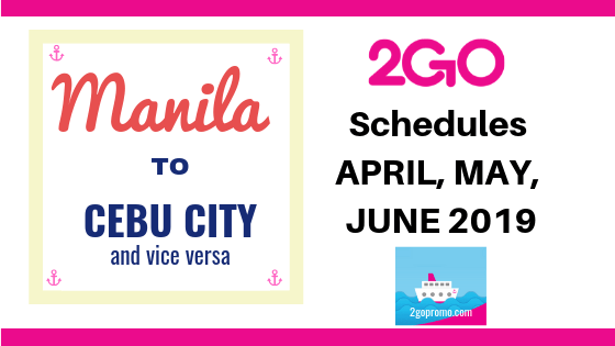 2go manila to cebu city shipping guide