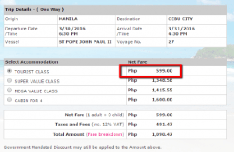 2_Go_Promo_Fare Manila to Cebu