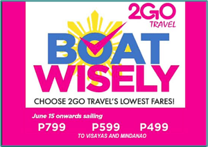 2Go Travel ONE DAY PROMO on Election Day ONLY