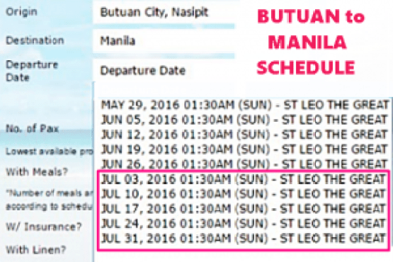 Butuan_to_Manila_July_2016_Schedule