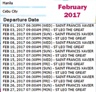 Manila-to-Cebu-Ship-Schedule-February-2017
