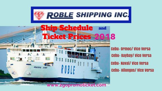 Roble-Shipping-Lines-Ship-Schedule-and-Fares-2018