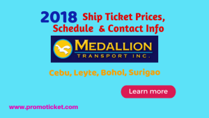 2018-Medallion-ship-trip-schedule-and-boat-fares