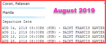 2go-coron-to-manila-trip-schedule-august-2019