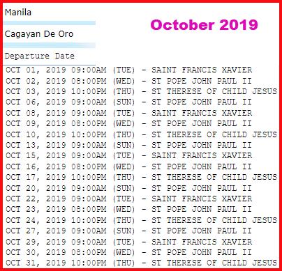 manila-to-cagayan-de-oro-2go-travel-october-2019-schedule