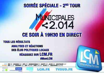Encart presse - Emission TV Elections municipales 2014