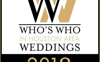 We Are Now in the Who's Who for the Bridal Extravaganza July 21-22, 2018